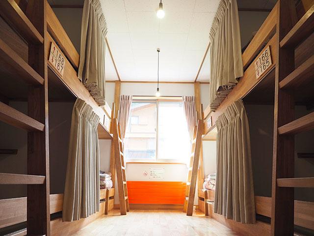 画像:2段ベッド室