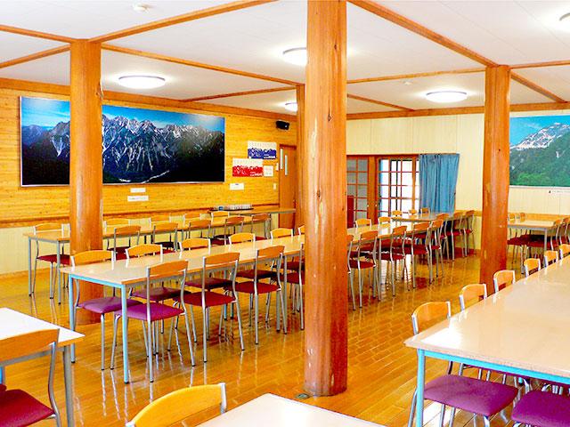 画像:食堂